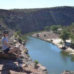The Murchison River, Kalbarri NP
