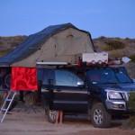 Campsite at Francois Peron NP