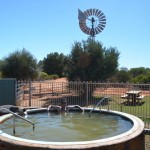 The homesteads artesian bore 40' hot tub, Francois Peron NP