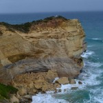 Collapsed headland at the Twelve Apostles