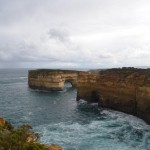 On the point of Loch Ard Gorge