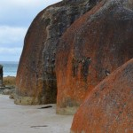 Boulders on Squeaky Beach