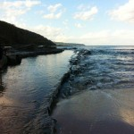 Rockpools at Blanket Bay