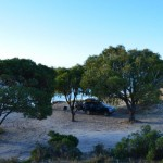 Our own private campsite at Jurien Bay, WA