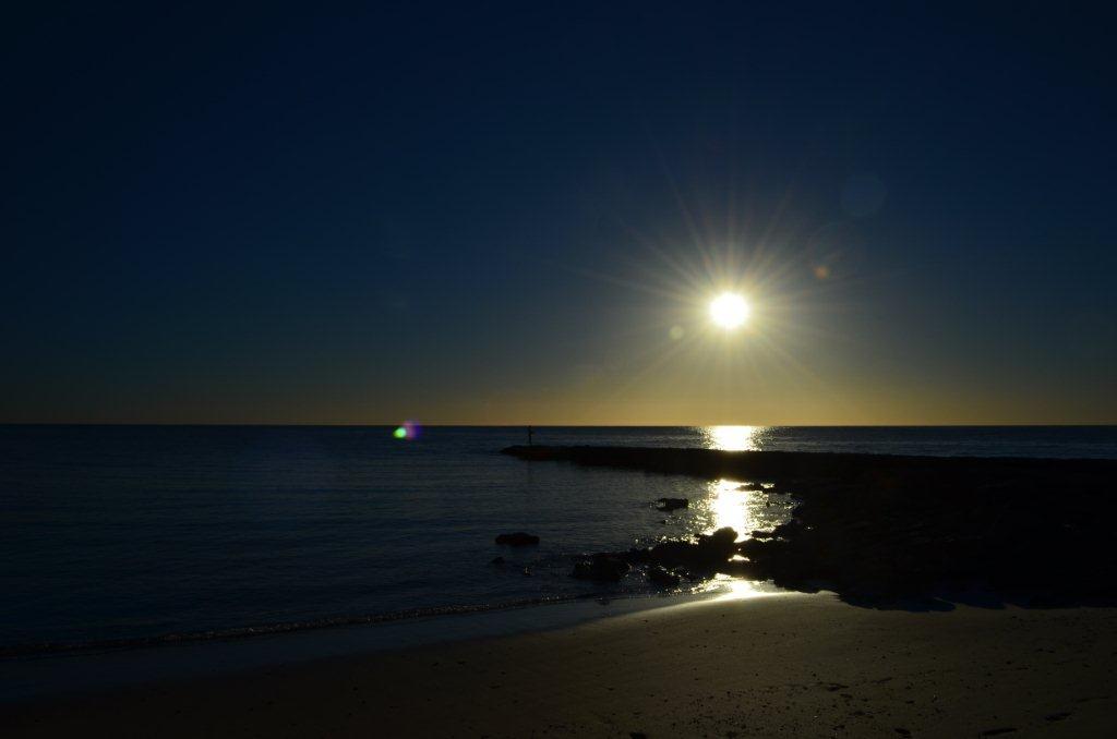 Sunset at Cape Range National Park