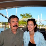 John and Tara, Cullen Bay Marina, Darwin