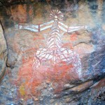 Rock art at Nourlangie, Kakadu
