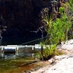 Croc trap - twin falls, Kakadu