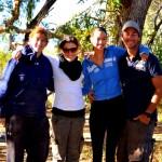 Bec, Briony, Tara & Dave at El Questro