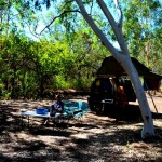 Charnley River station camp site