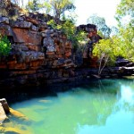 Grevellia Pool, Charnley River station