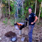 Cooking damper, Charnley River station