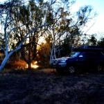 Hann River camp site