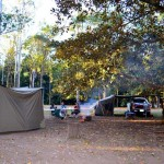 Charlie Moreland camping area