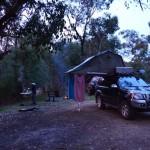 Our camp - Tom Groggin