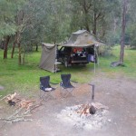 Our camp at Black Flat, in Upper Dargo