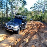 Cooloola Way 4x4 track up to Fraser Island