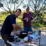Fraser Island - breaky time