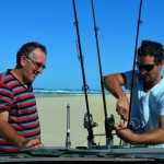Fishing at Sandy Cape - Fraser Island