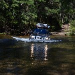One of many river crossings, Deua NP