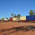 A little road train, The Pilbara
