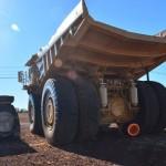 ex mining truck, Pannawonica, The Pilbara