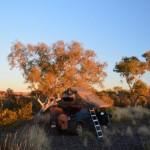 Camping in  The Pilbara