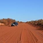 Prado on red dust, The Pilbara