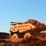 Mining truck, Tom Price, The Pilbara