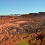 Mt Tom Price mine (This was once a mountain), The Pilbara
