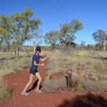 Action girl ready to take on the gorges, Karijini NP