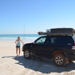 On the beach in Broome