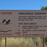 Croc country! The bottom of the Dampier Peninsula (Cape Leveque Rd) WA