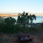 Camp fire @ Gnylmarung, Dampier Peninsula WA
