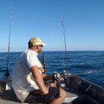 Bryn being our patient fishing guide! Gnylmarung, Dampier Peninsula WA