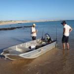 Bryn and Dave, Gnylmarung, Dampier Peninsula WA
