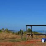 Fish cleaning station, Gnylmarung, Dampier Peninsula WA