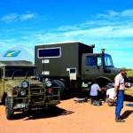 Birdsville trucks