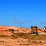 Coober Pedy Opal mining