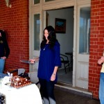 Demi cutting the cake - Gt Western Hotel Cobar