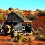 Simpson Desert camping