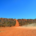 Simpson Desert sand dunes