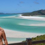 The shifting sands of Whitehaven Beach - Whitsunday Island