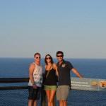 Pat, Tara, Dave at Cape Byron