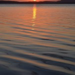 Sunset over the Myall Lakes